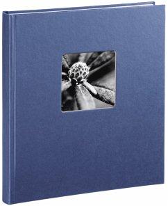 Hama Fine Art Buchalbum blau 29x32 50 weiße Seiten 2118