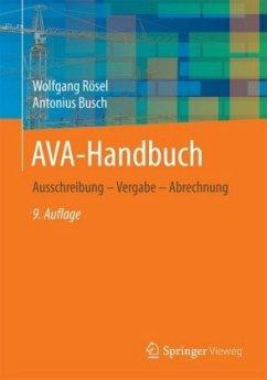 AVA-Handbuch - Rösel, Wolfgang; Busch, Antonius