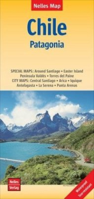Nelles Map Landkarte Chile - Patagonia; Chile - Patagonien / Chili - Patagonie