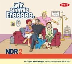 Wir sind die Freeses, 3 Audio-CDs - Altenburg, Andreas
