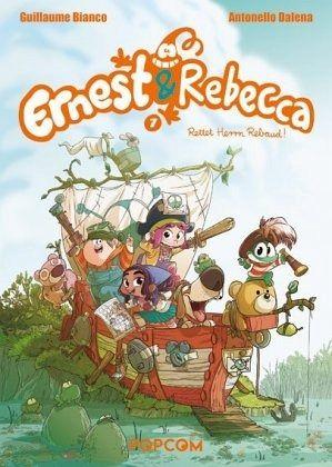 Buch-Reihe Ernest & Rebecca