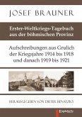 Erster-Weltkriegs-Tagebuch aus der böhmischen Provinz (eBook, ePUB)