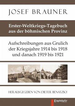 Erster-Weltkriegs-Tagebuch aus der böhmischen Provinz (eBook, ePUB) - Brauner, Josef
