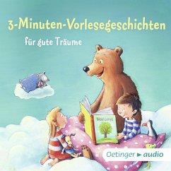 3-Minuten-Vorlesegeschichten für gute Träume (MP3-Download)
