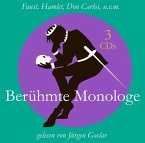 Berühmte Monologe, 3 Audio-CD
