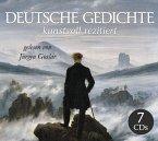 Deutsche Gedichte kunstvoll rezitiert, 7 Audio-CD