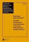 Rechtliche Einordnung von Internetwährungen im deutschen Rechtssystem am Beispiel von Bitcoin