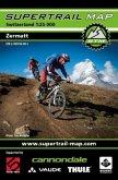 Supertrail Map Zermatt