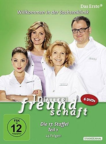 In aller Freundschaft - Die 17. Staffel, Teil 1, 24 Folgen (6 Discs)