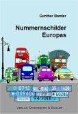 Nummernschilder Europas