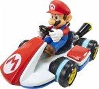 World of Nintendo 51701 - Mario Kart, Mini RC Racer Vehicle