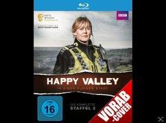 Happy Valley - In einer kleinen Stadt - Staffel 2 - 2 Disc Bluray - Lancashire,S./Finneran,S./Doyle,K./+