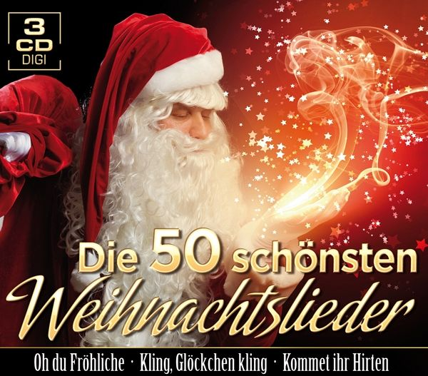 die 50 sch nsten weihnachtslieder auf audio cd portofrei. Black Bedroom Furniture Sets. Home Design Ideas