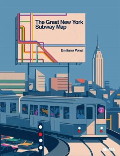 The Great New York Subway Map von Emiliano Ponzi portofrei bei ...