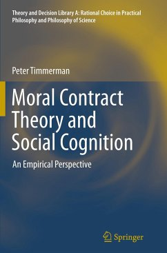 Moral Contract Theory and Social Cognition - Timmerman, Peter