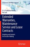 Extended Warranties, Maintenance Service and Lease Contracts