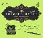 316 Balladen & Gedichte, 5 Audio-CD