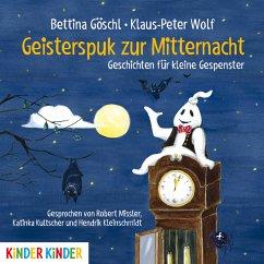 Geisterspuk zur Mitternacht (MP3-Download) - Göschl, Bettina; Wolf, Klaus-Peter