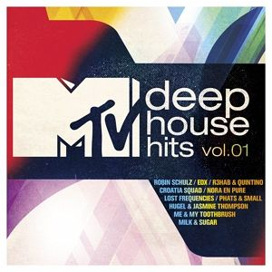 Mtv deep house hits vol 1 cd for Deep house hits
