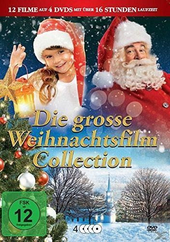 die grosse weihnachtsfilm collection dvd box auf dvd portofrei bei b. Black Bedroom Furniture Sets. Home Design Ideas