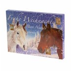 Schmuck-Adventskalender Pferde
