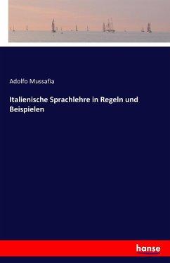 Italienische Sprachlehre in Regeln und Beispielen - Mussafia, Adolfo