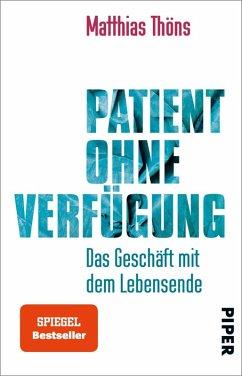 Patient ohne Verfügung (eBook, ePUB) - Thöns, Matthias