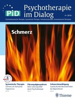 Schmerz / Psychotherapie im Dialog (PiD) 4/2016