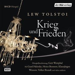 Krieg und Frieden, 10 Audio-CDs - Tolstoi, Leo N.