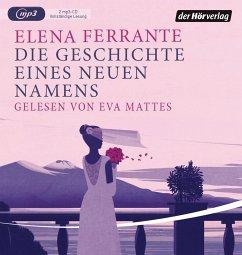 Die Geschichte eines neuen Namens / Neapolitanische Saga Bd.2 (2MP3-CDs) - Ferrante, Elena
