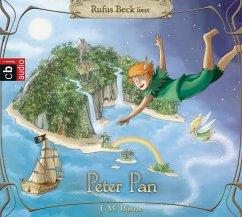 Peter Pan, 4 Audio-CDs - Barrie, James Matthew