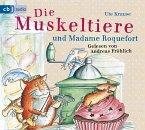 Die Muskeltiere und Madame Roquefort / Die Muskeltiere Bd.3 (3 Audio-CDs)