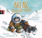 Spuren im Schnee / Aklak, der kleine Eskimo Bd.2 (1 Audio-CD)