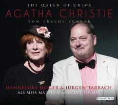 The Queen of Crime - Agatha Christie, 1 Audio-CD - Bünger, Traudl