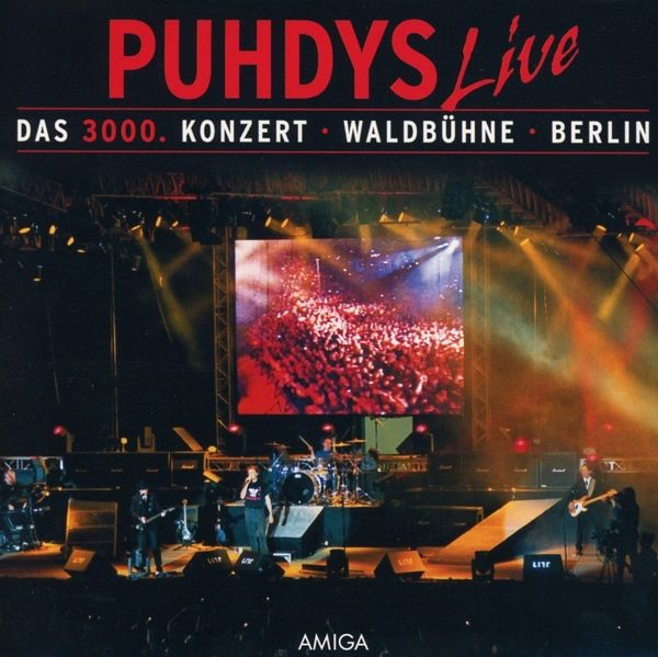 das 3000 konzert von puhdys cd. Black Bedroom Furniture Sets. Home Design Ideas