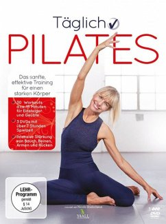Täglich Pilates (3 Discs) - Rudschinat,Nicole