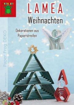 LAMEA Weihnachten - Dekorationen aus Papierstre...