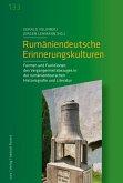 Rumäniendeutsche Erinnerungskulturen (eBook, PDF)