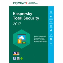 Kaspersky Total Security 2017 3 Geräte - 12 Mon...