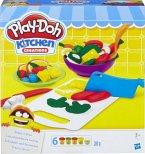 Hasbro B9012EU4 - Play-Doh, Schnippel und Servierset, Knete