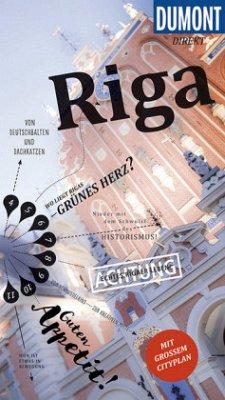 DuMont direkt Reiseführer Riga - Könnecke, Jochen