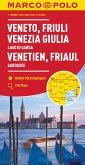 MARCO POLO Karte Venetien, Friaul, Gardasee 1:200 000; Vénétie, Frioul, Lac de Garde / Veneto, Friuli, Lago di Garda / V