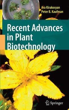 Recent Advances in Plant Biotechnology - Kirakosyan, Ara; Kaufman, Peter B.