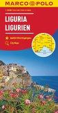 MARCO POLO Karte Ligurien 1:200 000; Ligurie / Liguria