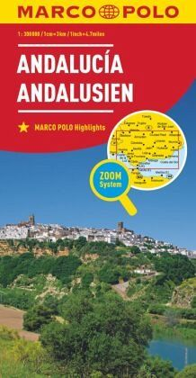 Andalusien Karte Spanien.Marco Polo Karte Spanien Andalusien 1 300 000