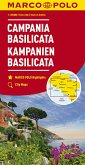 MARCO POLO Karte Kampanien, Basilicata 1:200 000; Campania, Basilicata / Campanie, Basilicate