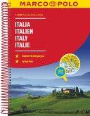 MARCO POLO Reiseatlas Italien 1:300 000; Italia / Italy / Italie