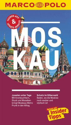 MARCO POLO Reiseführer Moskau - Mrozek, Gisbert