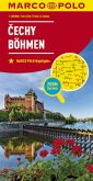 MARCO POLO Karte Böhmen 1:200 000; Cechy / Bohemia / Boheme