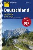 ADAC Kompaktatlas Deutschland 2017/2018 1:300 000